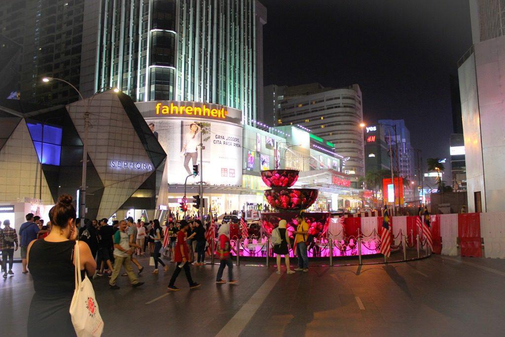 Image de Kuala Lumpur la nuit