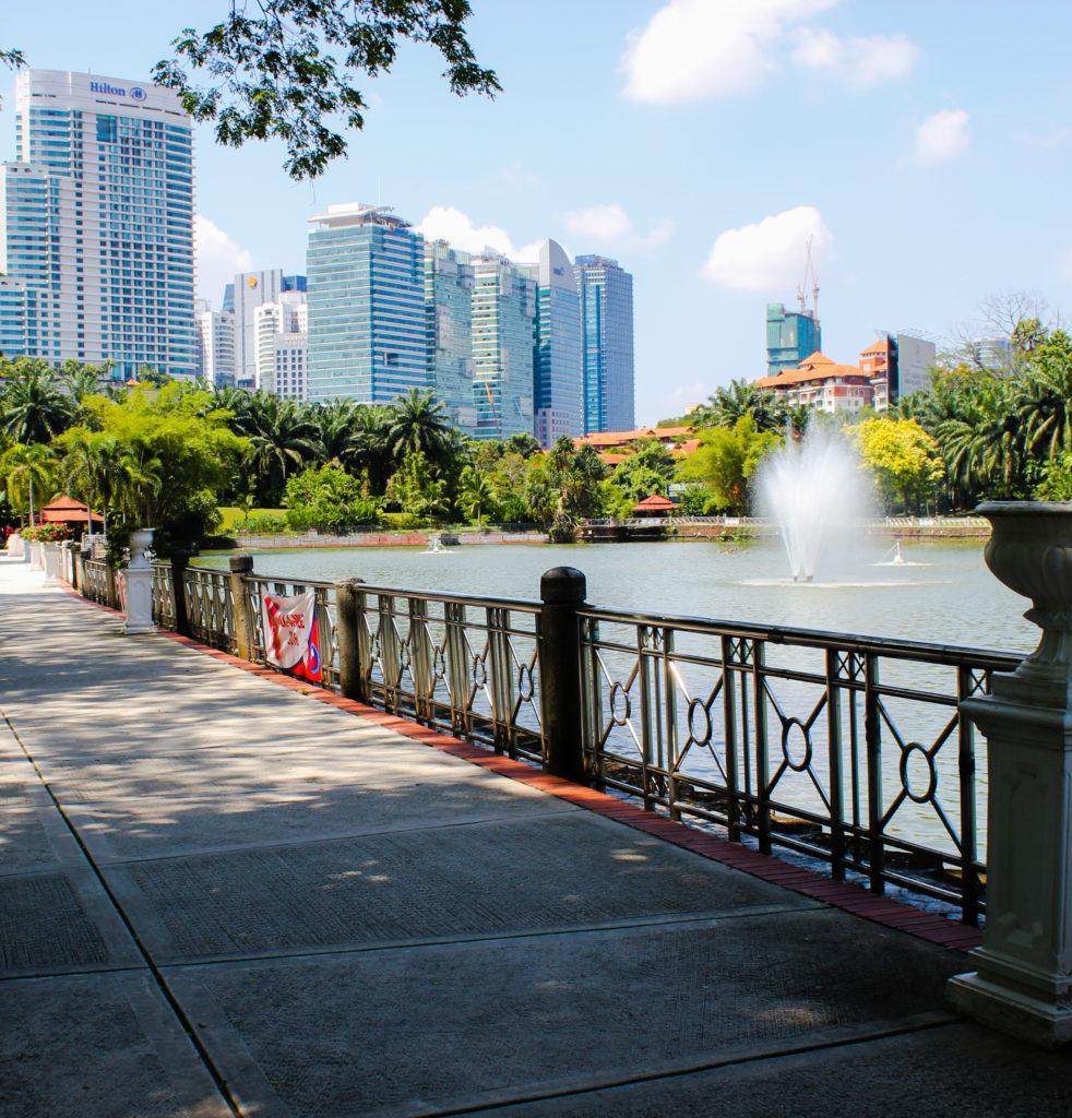 Image du lac du Perdana Botical Garden