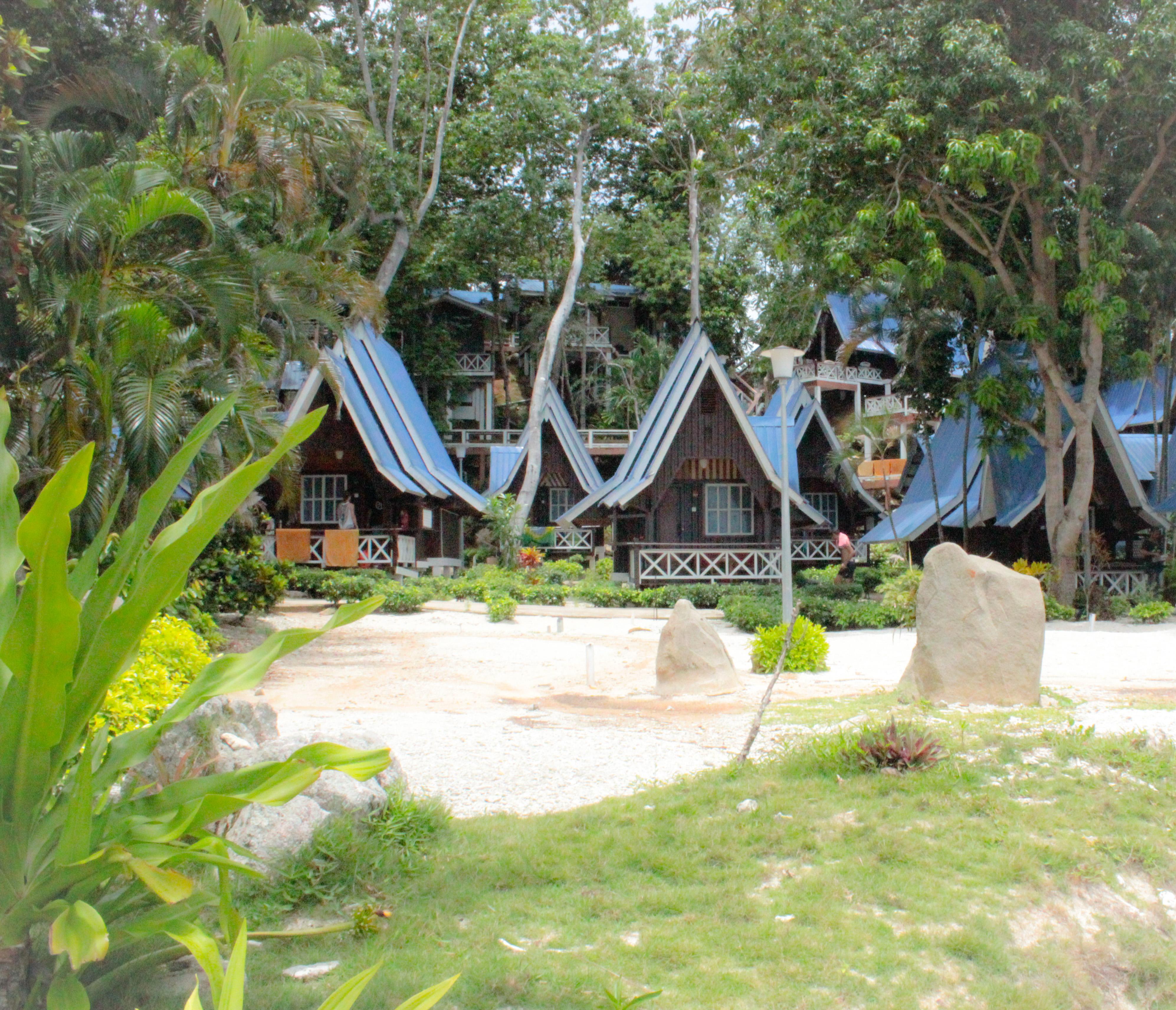 Image du chalet du Coral View Island Resort