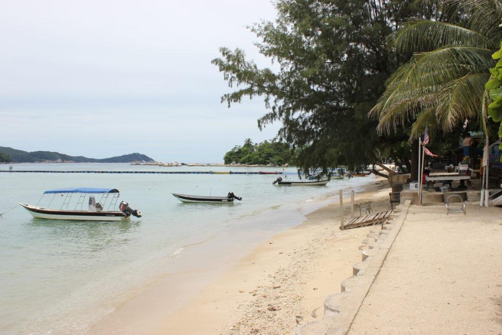 Image de la digue de la plage principale