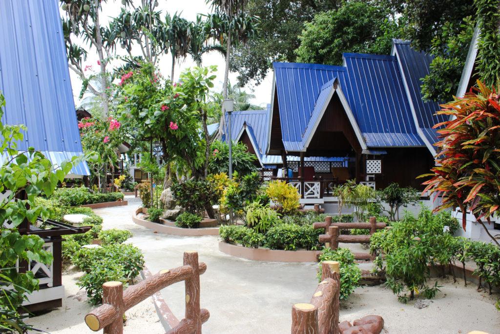 Image de chalets avec Coral View Resort