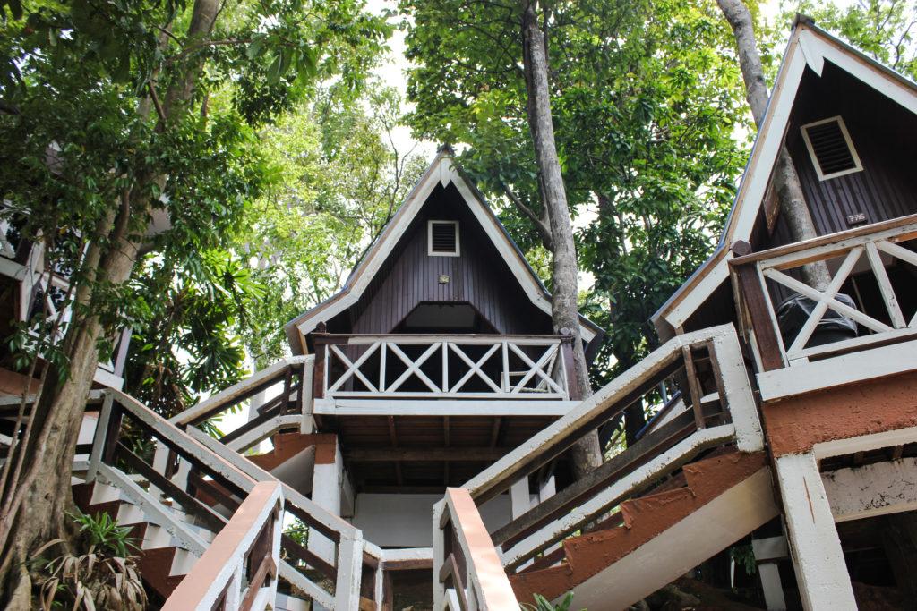Image des chalets du Coral View Resort