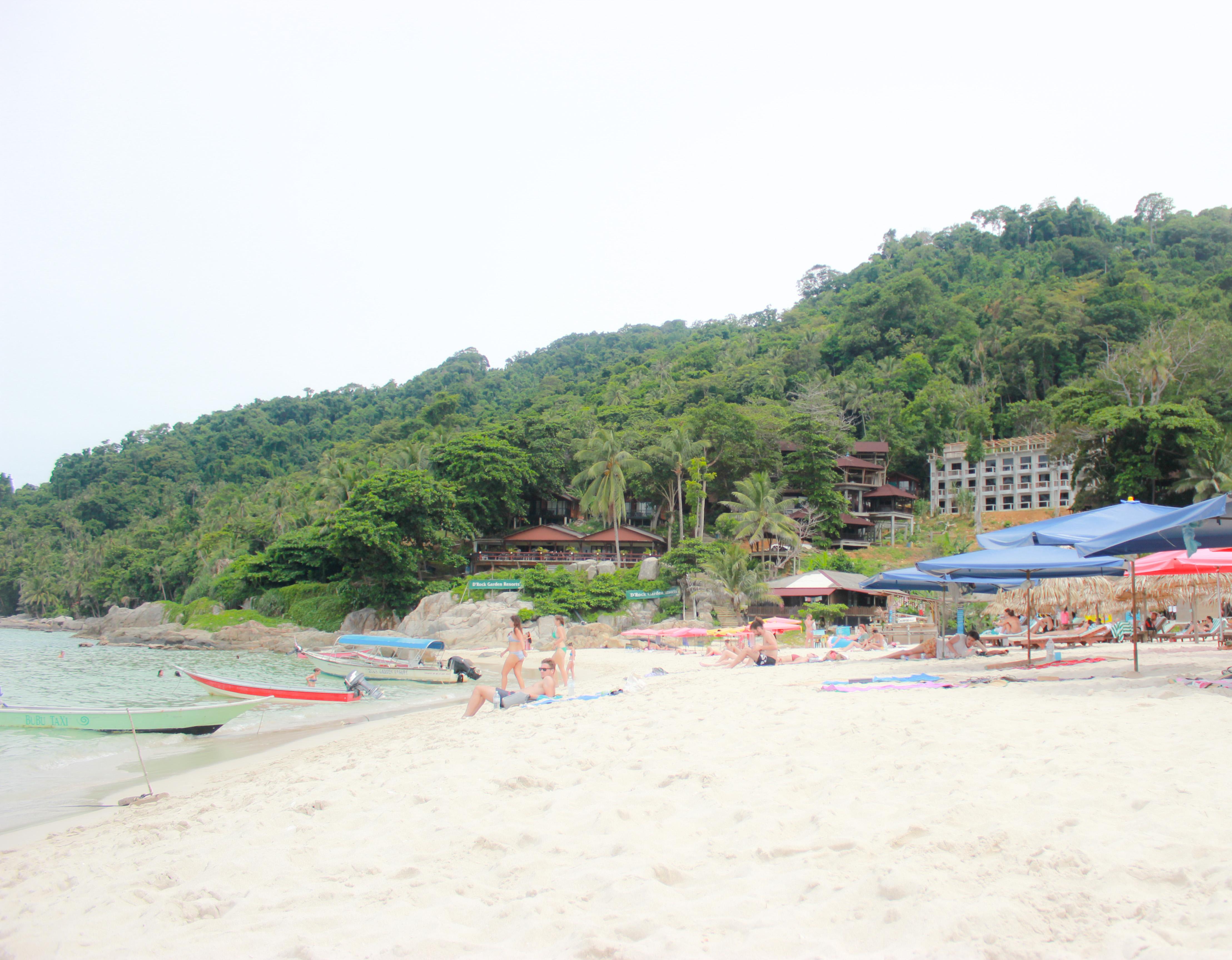 Image de la plage de Pulau kecil