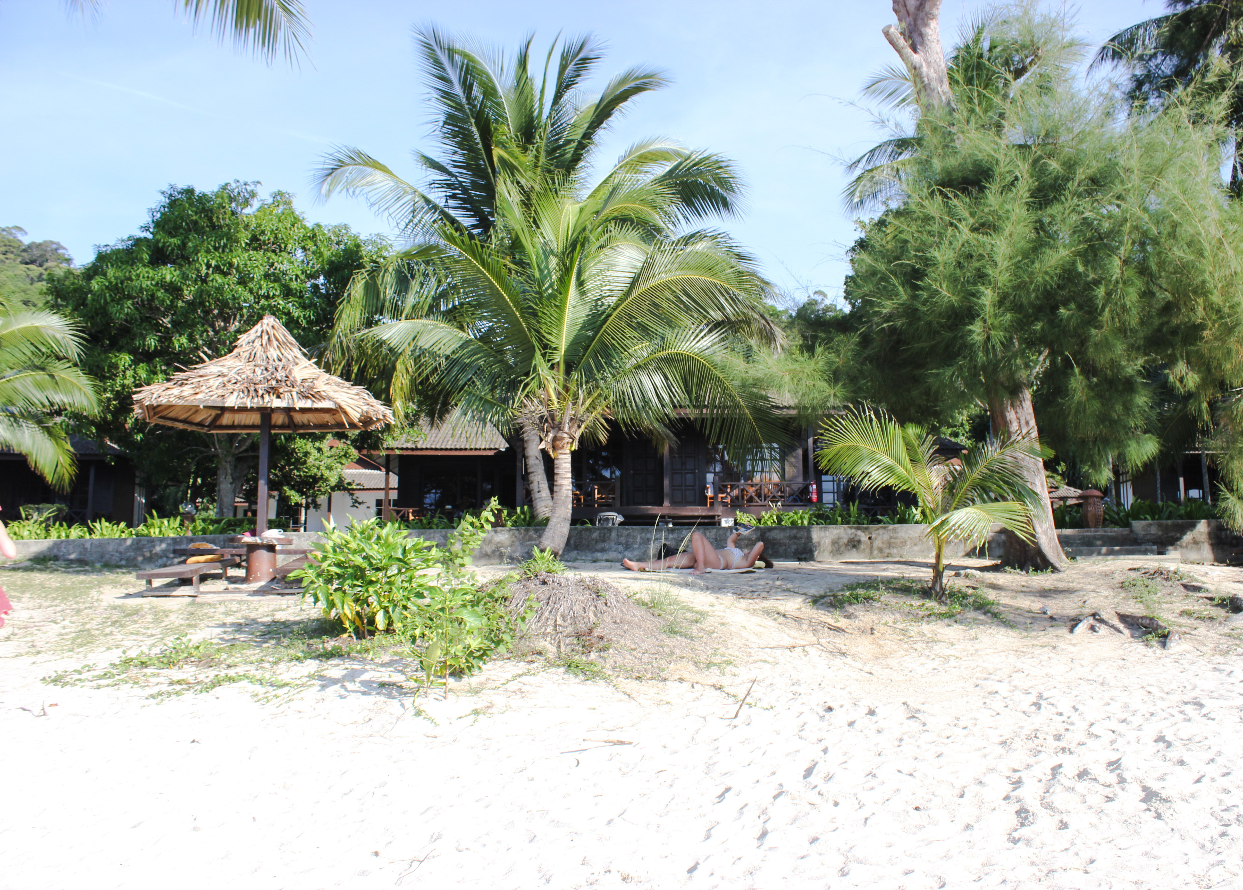 Image de la plage du Perhentian Island Resort