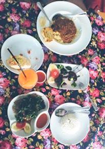 Nourriture restaurant du Sawasadee guesthouse