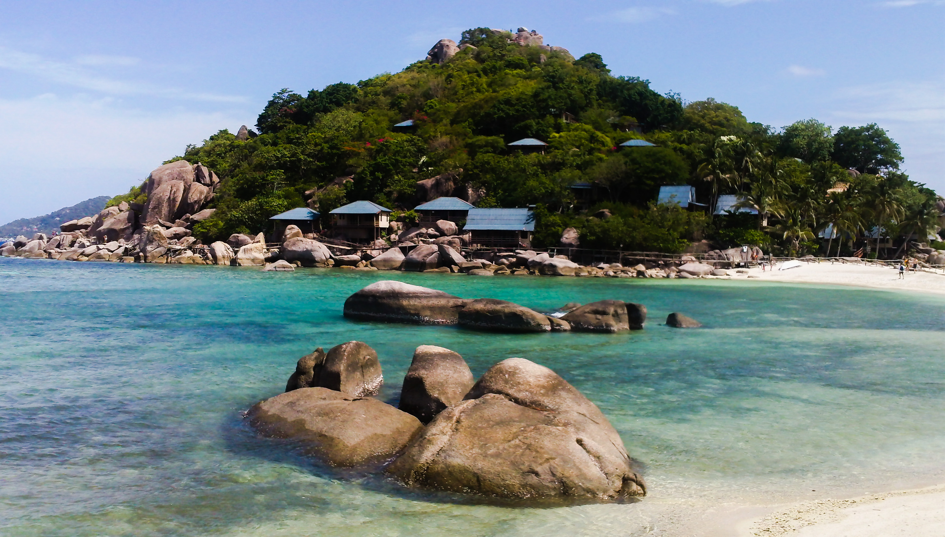 Image de la plage de Koh Nang Yuan