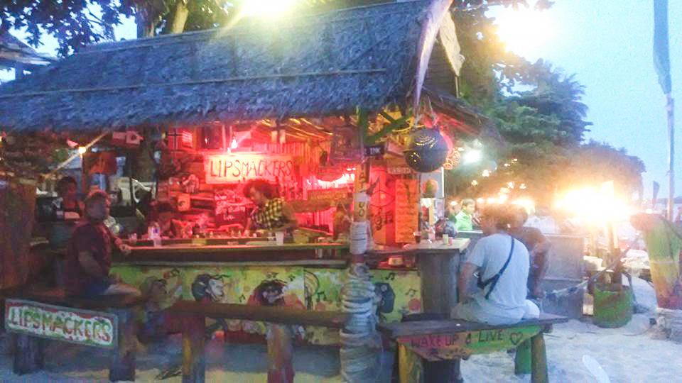 Image du bar reggae de chaeweng beach