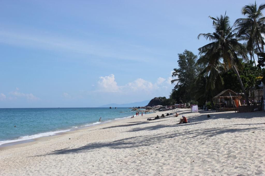 Image de la plage de Lamai beach