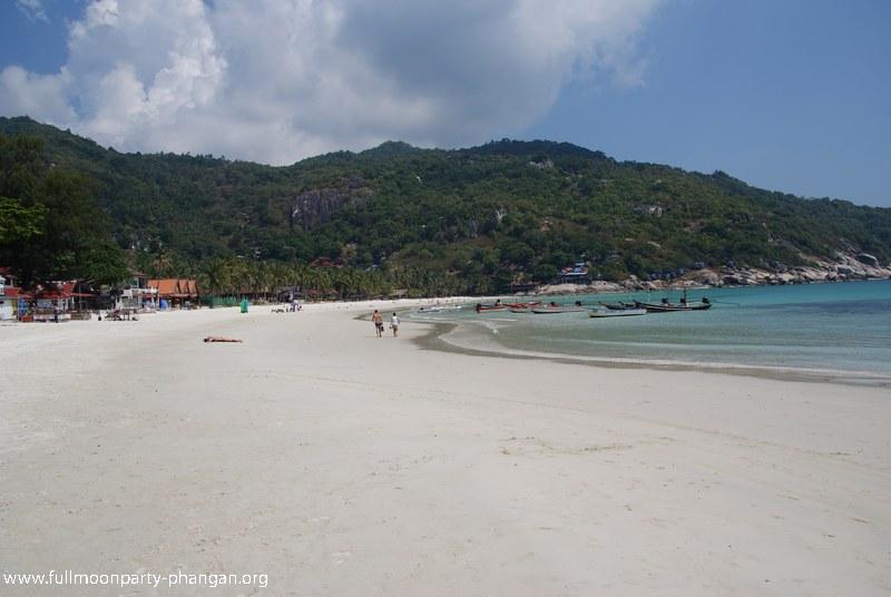 Image de la plage d'Haad Rin