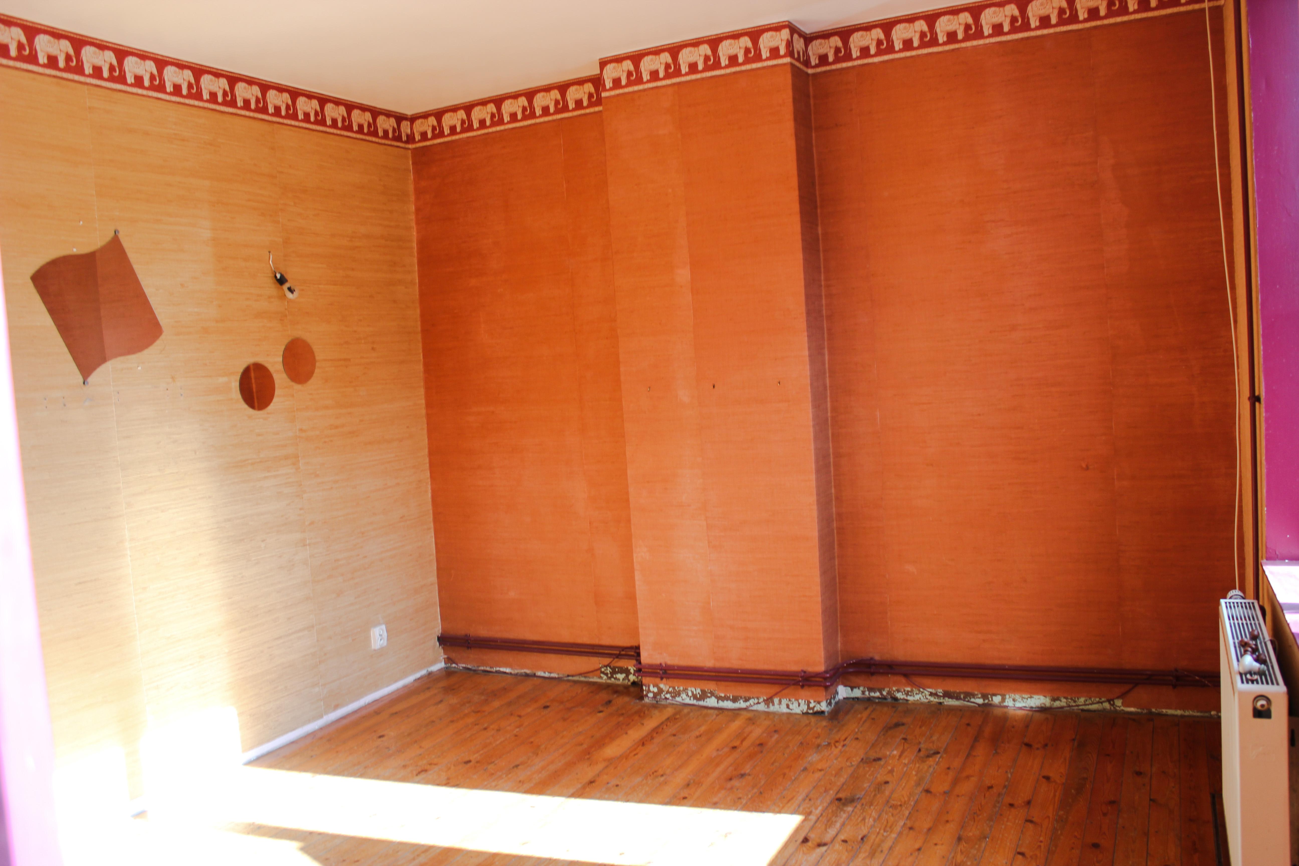 la chambre avant les travaux