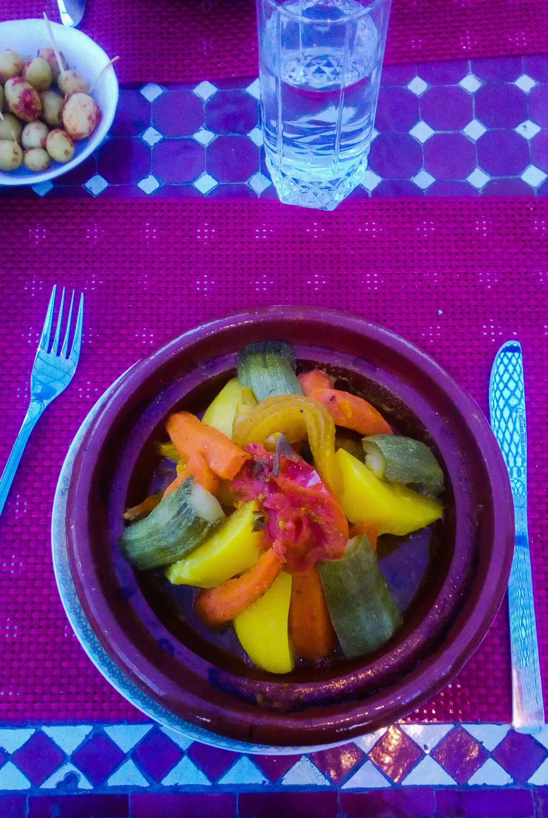 Photo du couscous au restaurant R'cif