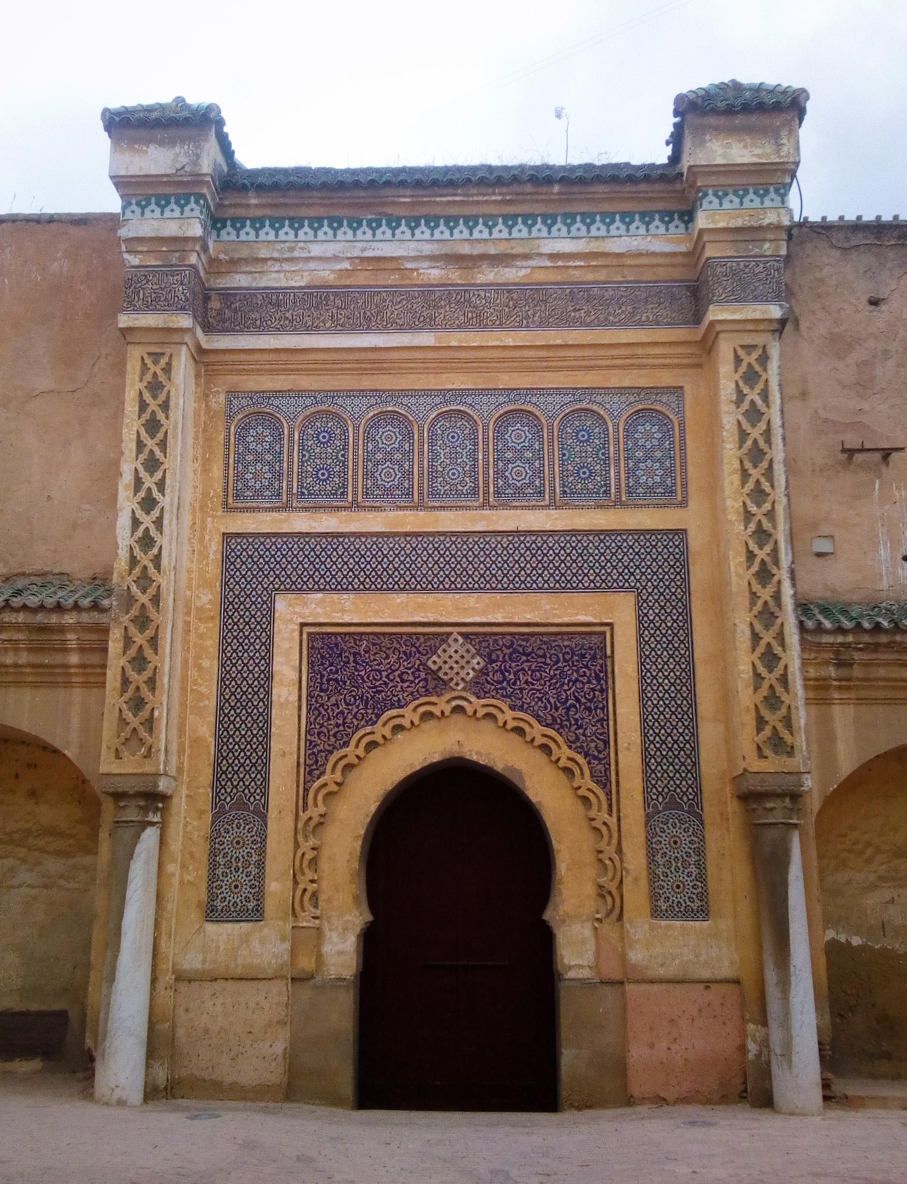 Image de Bab El Mansour à Meknès au Maroc