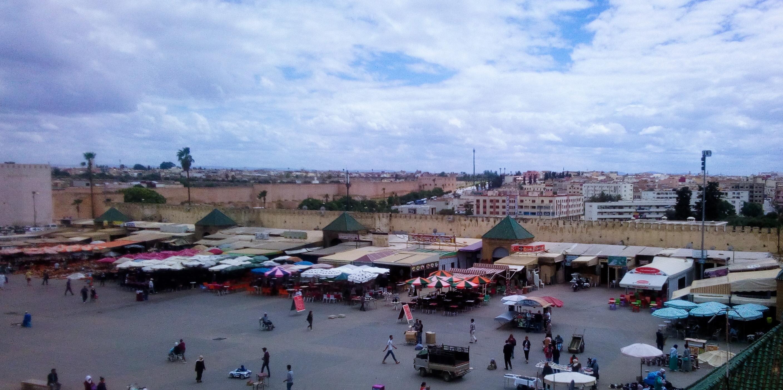 Vue de la place El Hedim