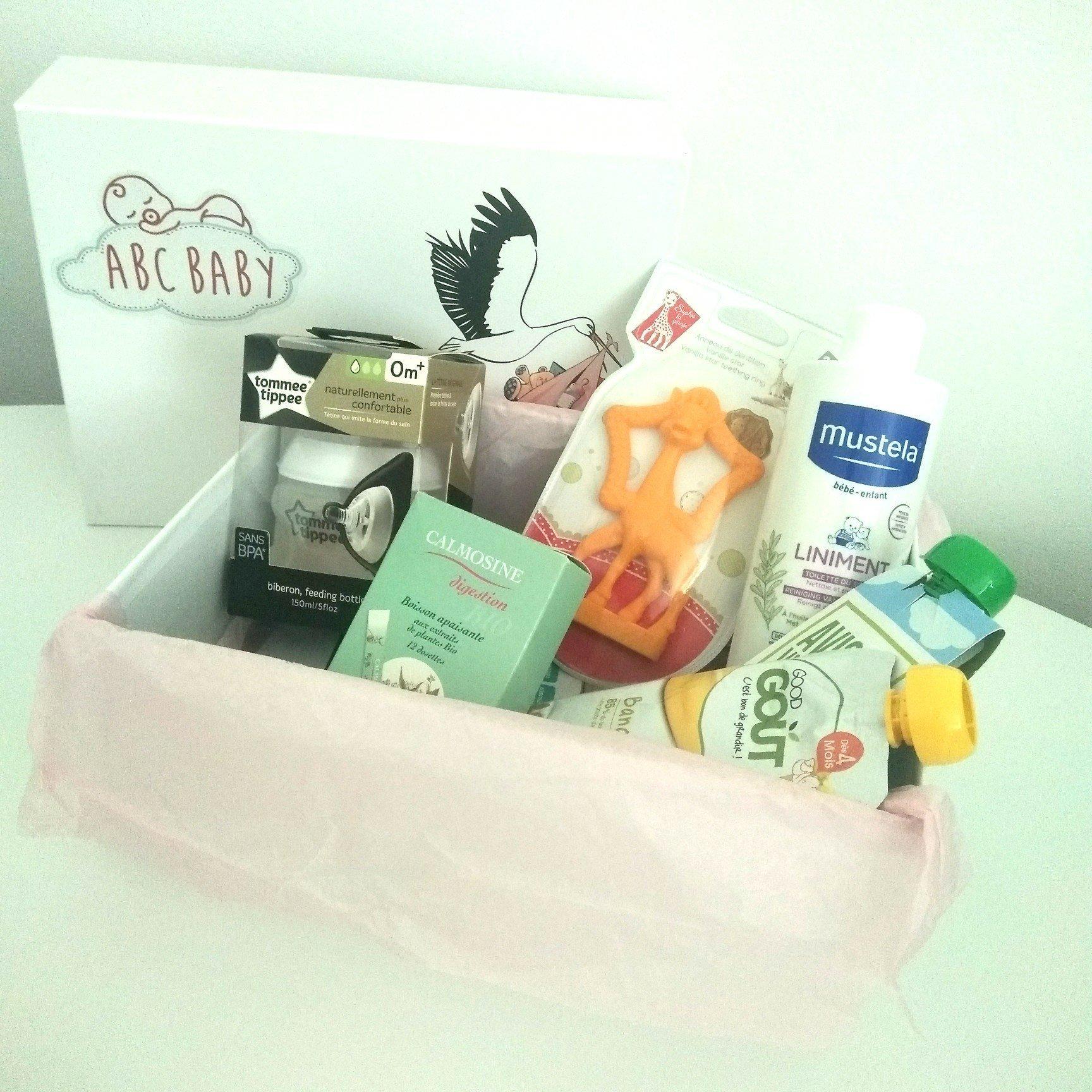 Box ABC BABY et tous ses produits